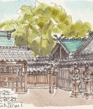 17364_伊久智神社本殿と合祀社